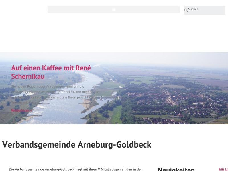 Screenshot von https://www.arneburg-goldbeck.de/