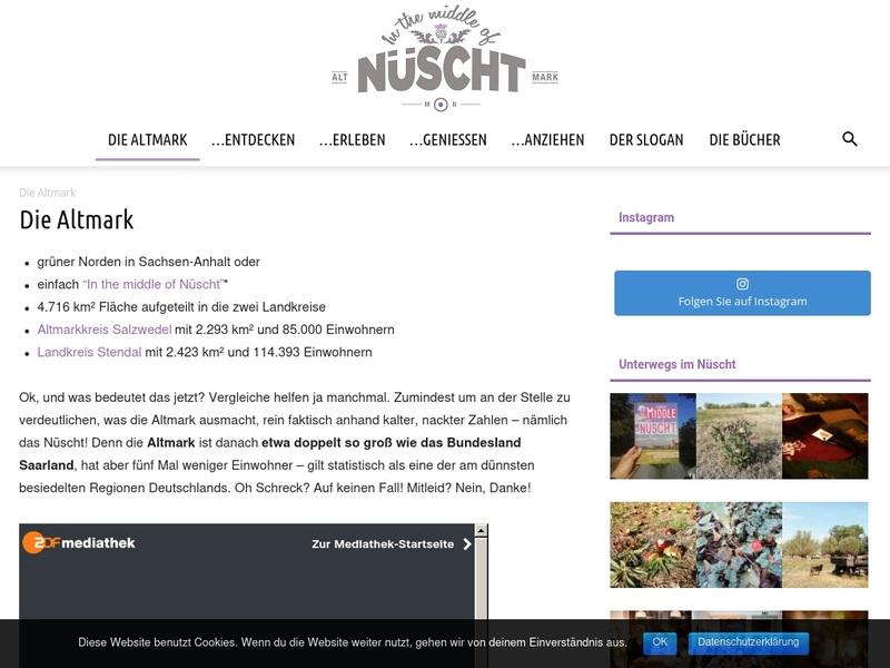 Screenshot von https://in-the-middle-of-nuescht.de/die-altmark/
